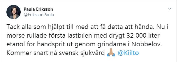 Paula Eriksson Twitter